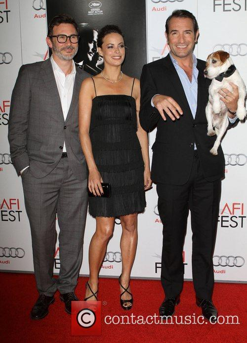 Berenice Bejo, Jean Dujardin and Grauman's Chinese Theatre 8