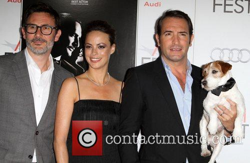 Berenice Bejo, Jean Dujardin and Grauman's Chinese Theatre 9