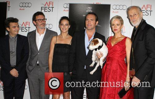 Berenice Bejo, James Cromwell, Jean Dujardin, Penelope Ann Miller and Grauman's Chinese Theatre 11