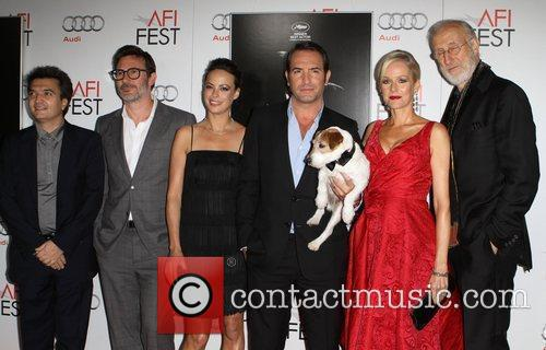 Berenice Bejo, James Cromwell, Jean Dujardin, Penelope Ann Miller and Grauman's Chinese Theatre 7