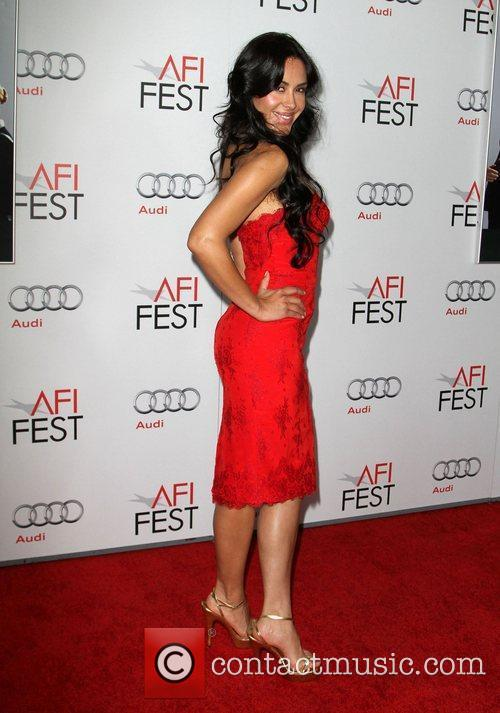 Carla Ortiz at the AFI Fest 2011 premiere...