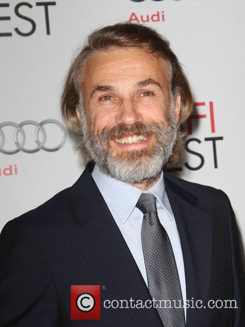 Christoph Waltz and Grauman's Chinese Theatre 5