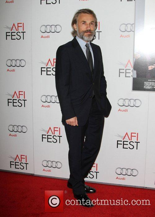 Christoph Waltz and Grauman's Chinese Theatre 10