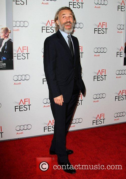 Christoph Waltz at the AFI Fest 2011 premiere...
