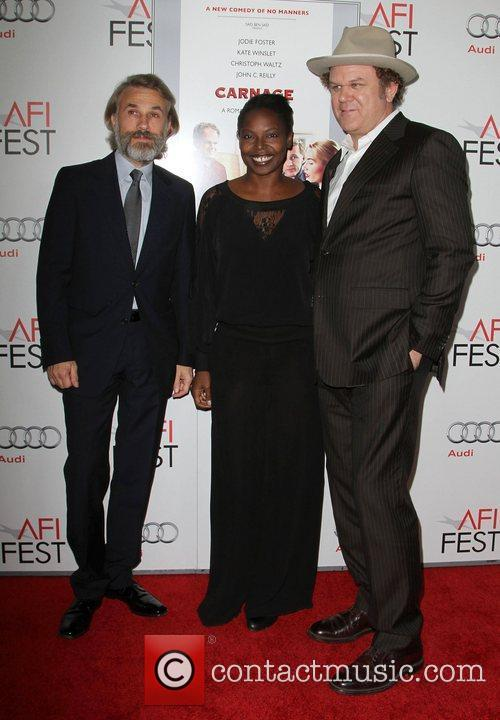Christoph Waltz, Jacqueline Lyanga, John C. Reilly at...