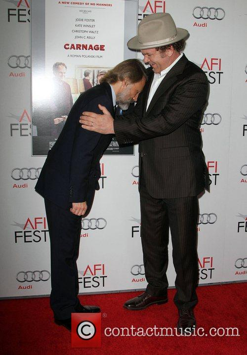Christoph Waltz, John C Reilly and Grauman's Chinese Theatre 9