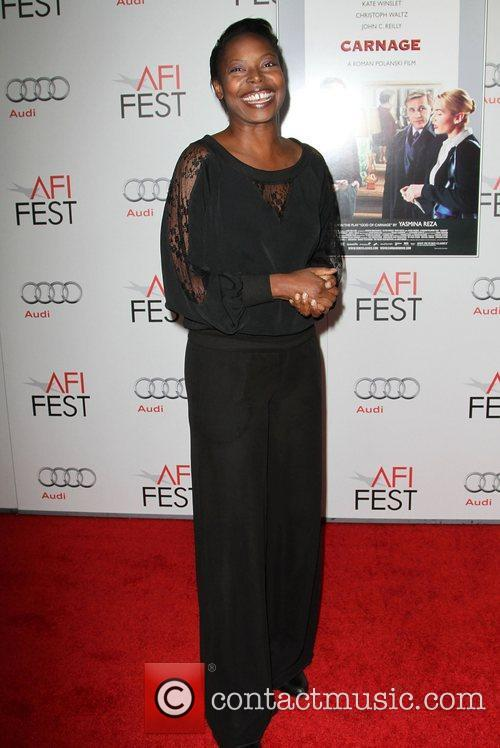 Jacqueline Lyanga at the AFI Fest 2011 premiere...