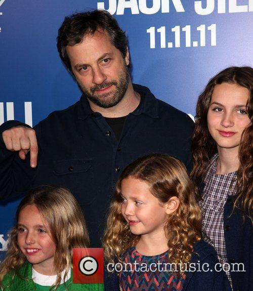 producer judd apatow with children and guest 3596231