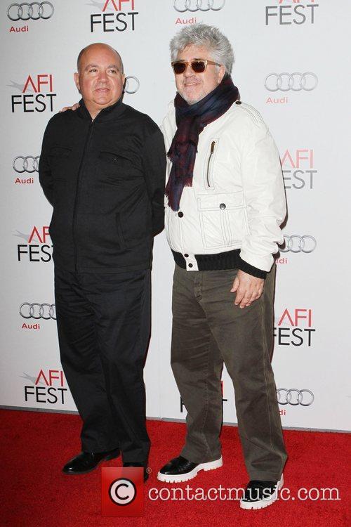 Agustin Almodovar, Pedro Almodovar and Grauman's Chinese Theatre 1