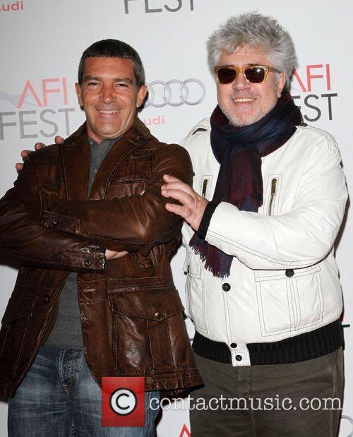 Antonio Banderas and director Pedro Almodovar AFI Fest...