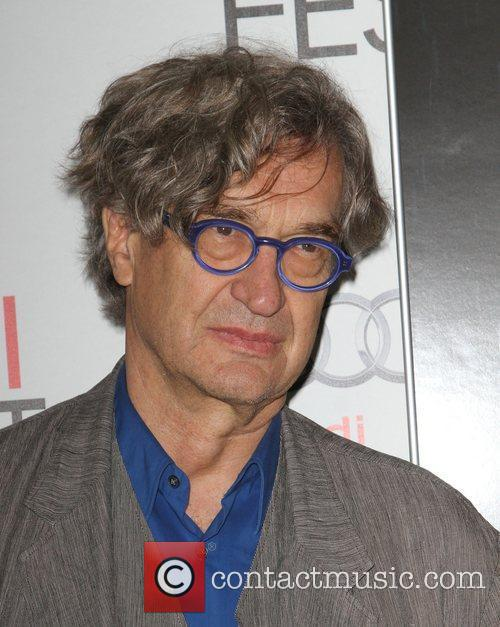 Wim Wenders at the AFI Fest 2011 premiere...
