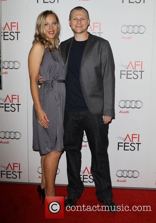 Jill Remensnyder, Brett Eichenberger AFI Fest 2011 premiere...