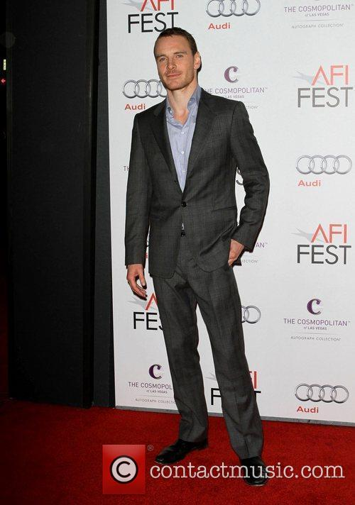 Michael Fassbender and Grauman's Chinese Theatre 9