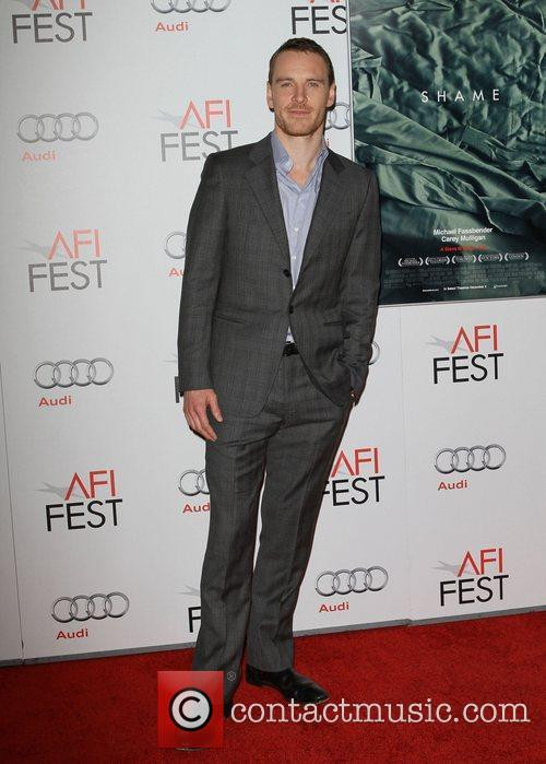 Michael Fassbender and Grauman's Chinese Theatre 1