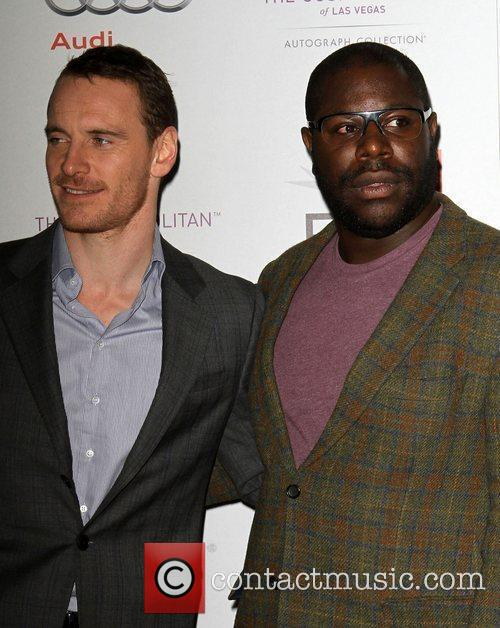 Michael Fassbender, Steve McQueen and Grauman's Chinese Theatre 4