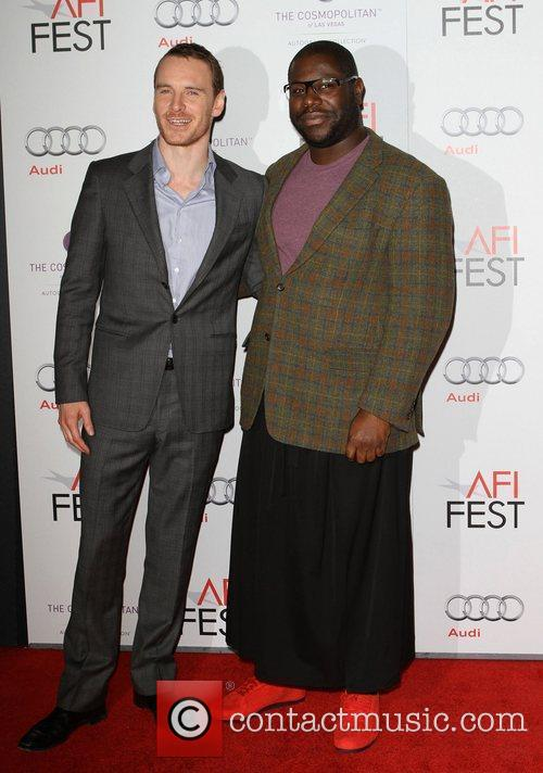 Michael Fassbender, Steve Mcqueen and Grauman's Chinese Theatre 5