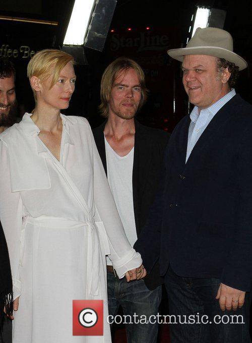 Tilda Swinton, John C Reilly and Grauman's Chinese Theatre 6