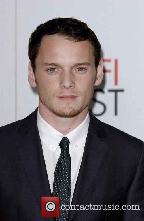 Anton Yelchin and Grauman's Chinese Theatre 1