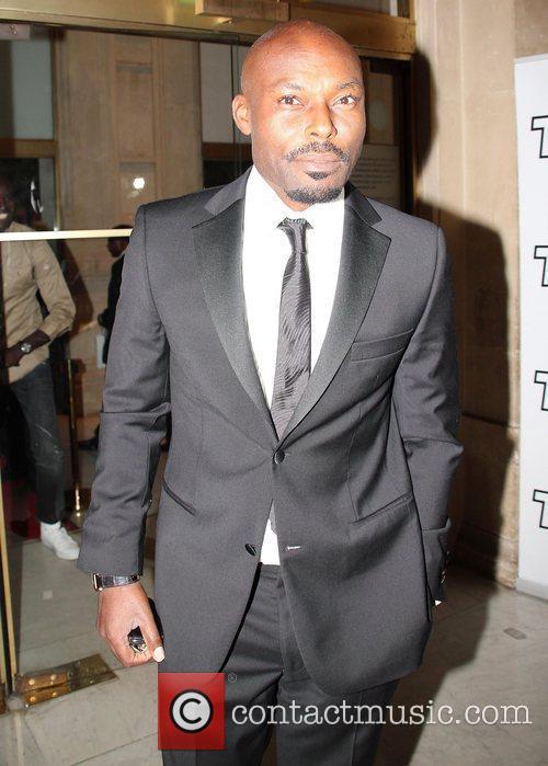 At the 6th Afro-Caribbean Arts Awards at Theatre...