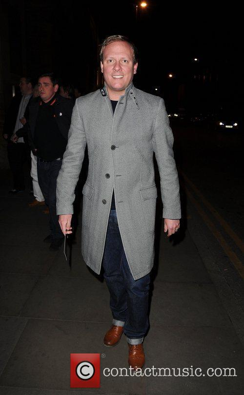 Antony Cotton,  at the Ghost aftershow party...