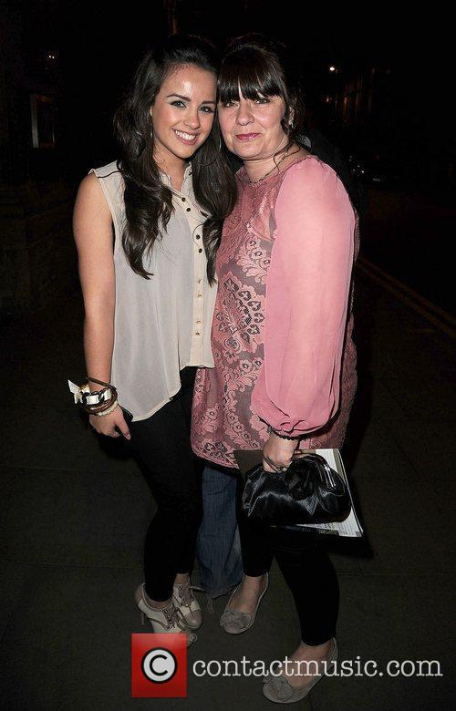 Georgia May Foote and her mother at the...