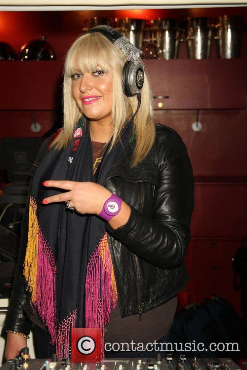 DJ Nikki Aigua Media's fashion and beauty party...