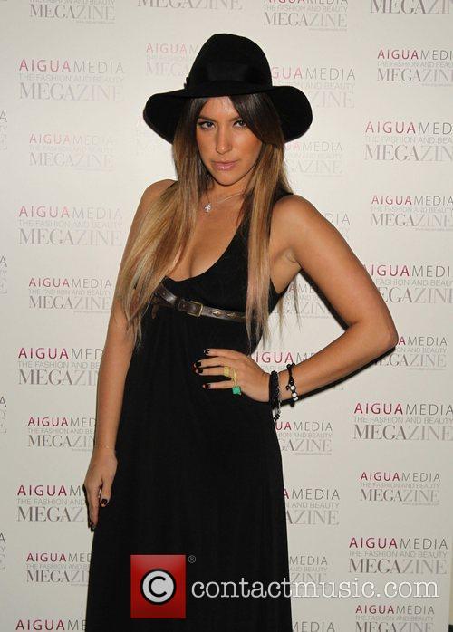 Gabriella Ellis Aigua Media's fashion and beauty party...