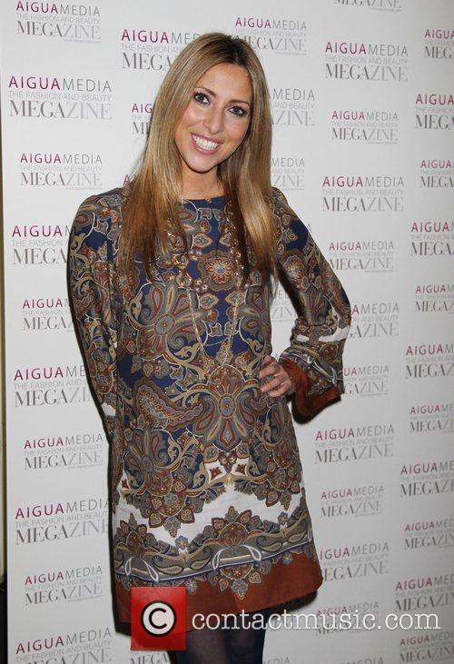 Kate Walsh Aigua Media's fashion and beauty party...
