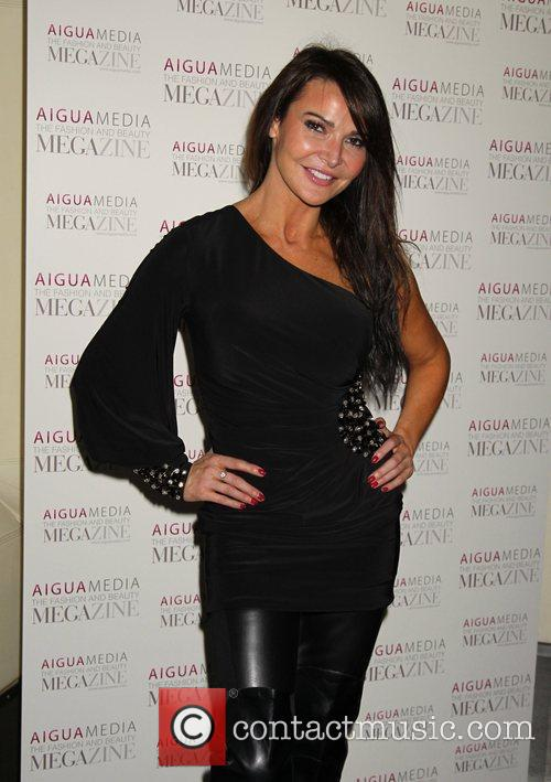 Lizzie Cundy Aigua Media's fashion and beauty party...