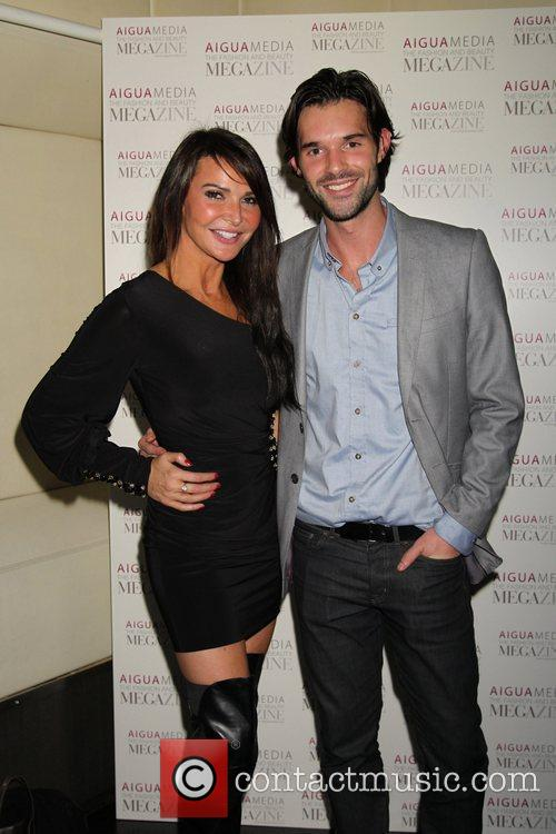 Lizzie Cundy and Bobby Sabel Aigua Media's fashion...