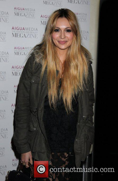 Zara Martin Aigua Media's fashion and beauty party...
