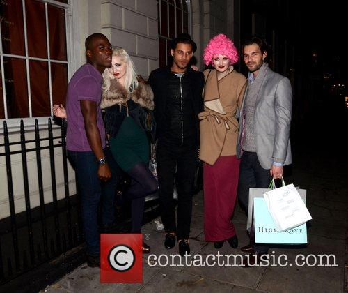 Bobby Sabel and Guests Aigua Media's fashion and...