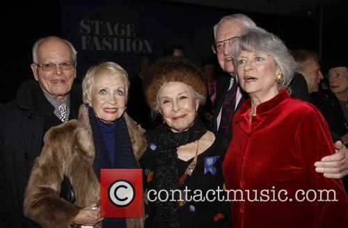 Jane Powell, Al Hirschfeld and Marge Champion 2