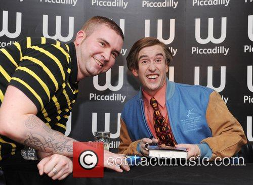 Steve Coogan aka Alan Partridge  at a...