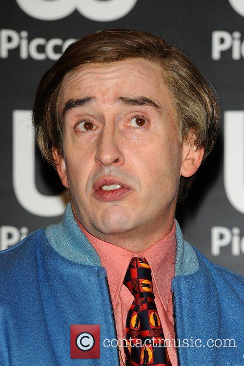 Steve Coogan aka Alan Partridge at a book signing at Waterstone's, Piccadilly London