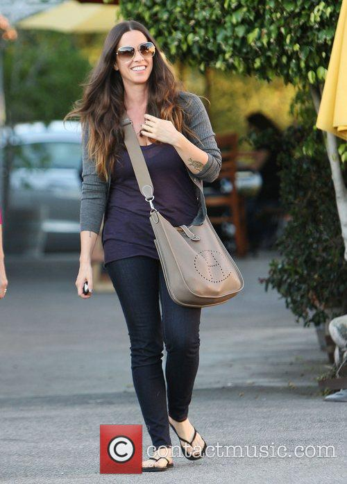 Alanis Morissette out and about in Brentwood. Los...
