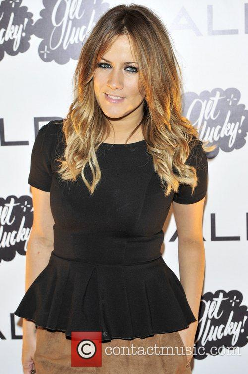 Caroline Flack ALDO 2011 party held at One...