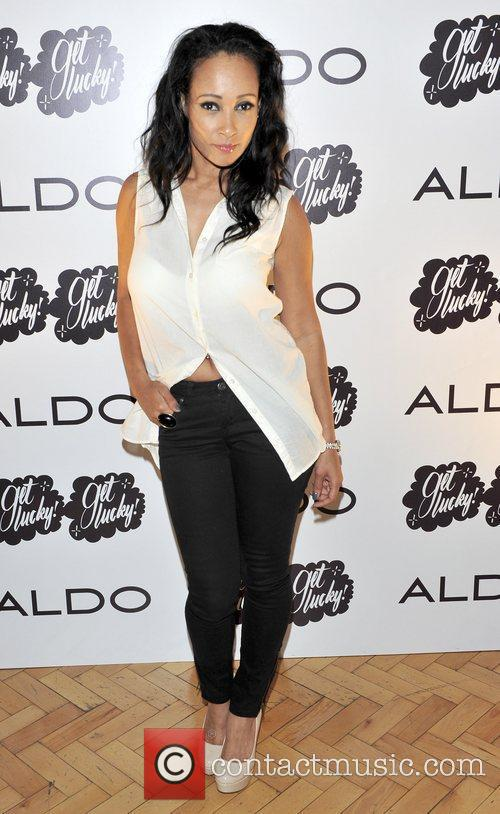 Lisa Maffia ALDO 2011 party held at One...