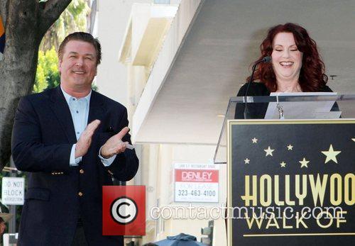 Alec Baldwin, Megan Mullally, Walk Of Fame