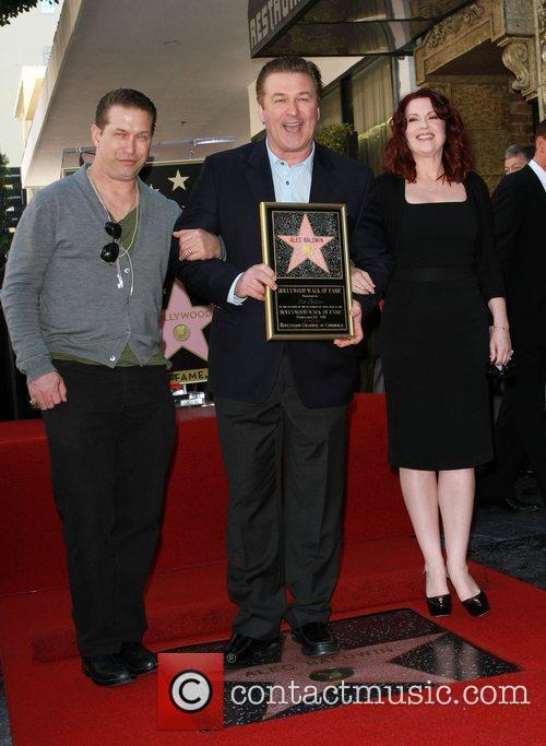 Stephen Baldwin, Alec Baldwin and Megan Mullally 1