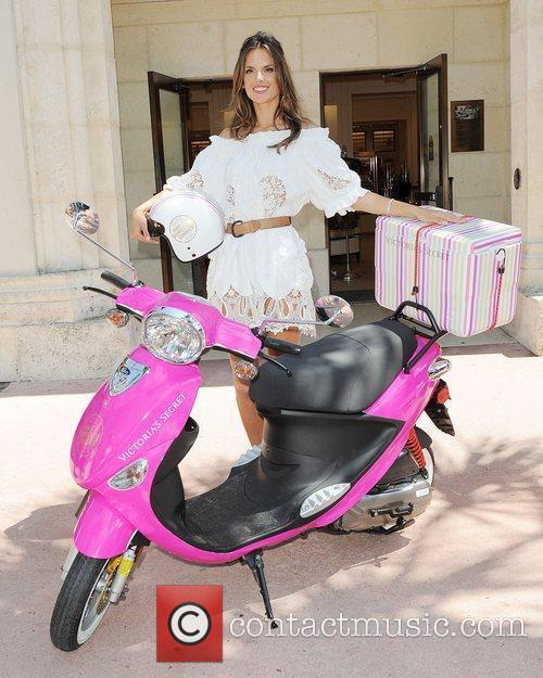 Alessandra Ambrosio attends the Victoria's Secret's Bombshell Summer...