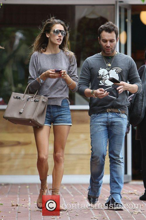 Alessandra Ambrosio and Fred Segal 8