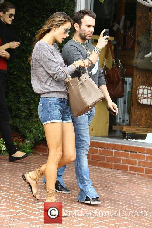 Alessandra Ambrosio and Fred Segal 11