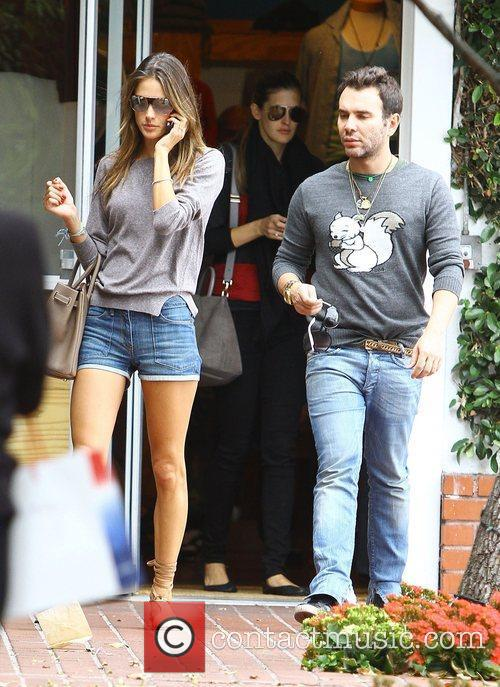Alessandra Ambrosio and Fred Segal 2