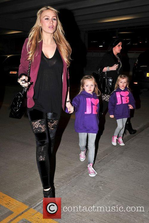 Alex Curran takes her daughters to see Justin...