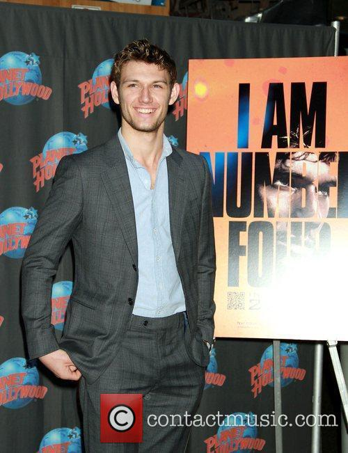 Alex Pettyfer at Planet Hollywood to promotes his...