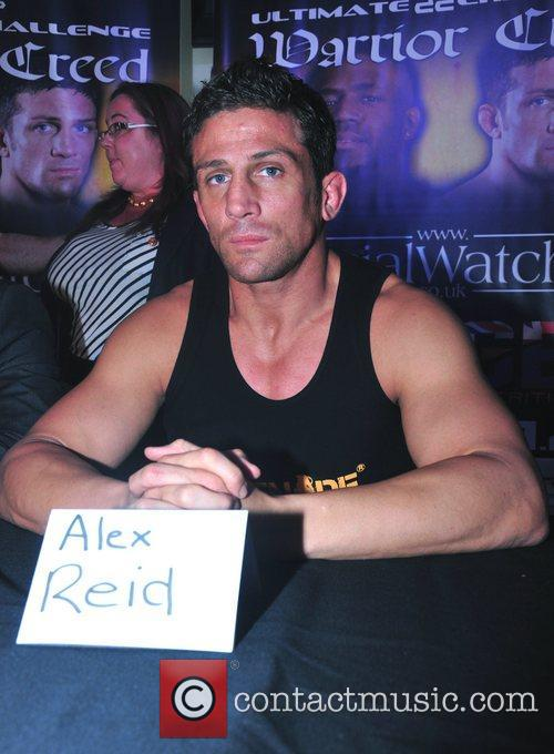 Alex Reid  Press conference and weigh-in ahead...