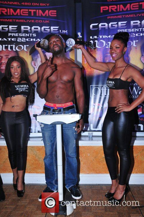 Jason Barrett Press conference and weigh-in ahead of...