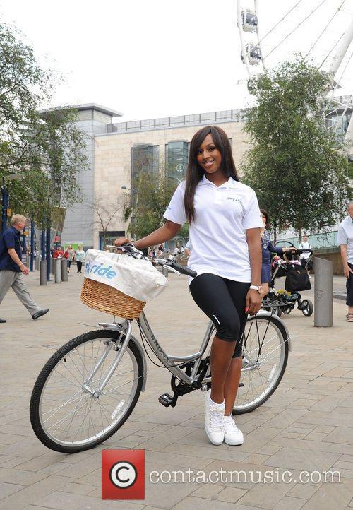 Alexandra Burke launches Sky Ride Manchester at Exchange...