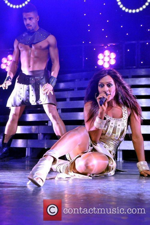 Alexandra Burke performs live at the IndigO2 London,...